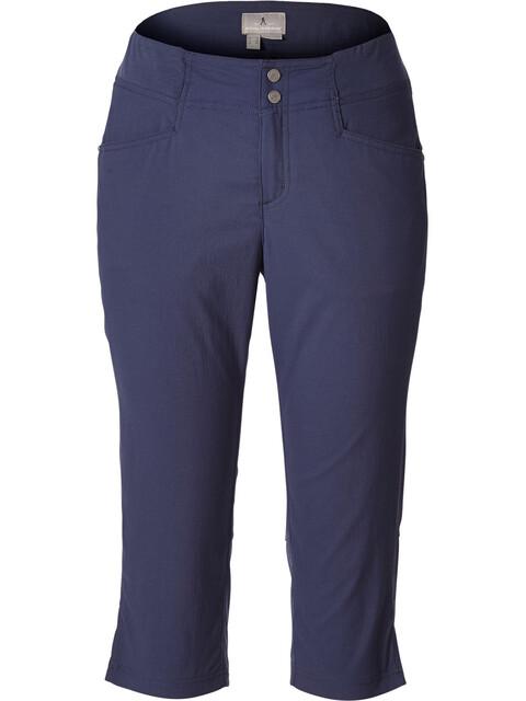Royal Robbins Jammer II Bukser korte Damer blå